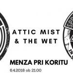 Rock fronta - make music not war: ATTIC MIST + THE WET