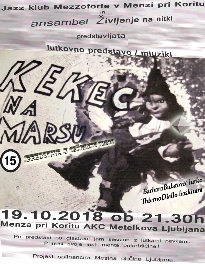 Kekec Na Marsu Menza plakat