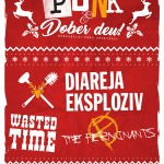 PUNK & Dober deu: koncert skupin Diareja Eksploziv, The ferminants, Wasted time