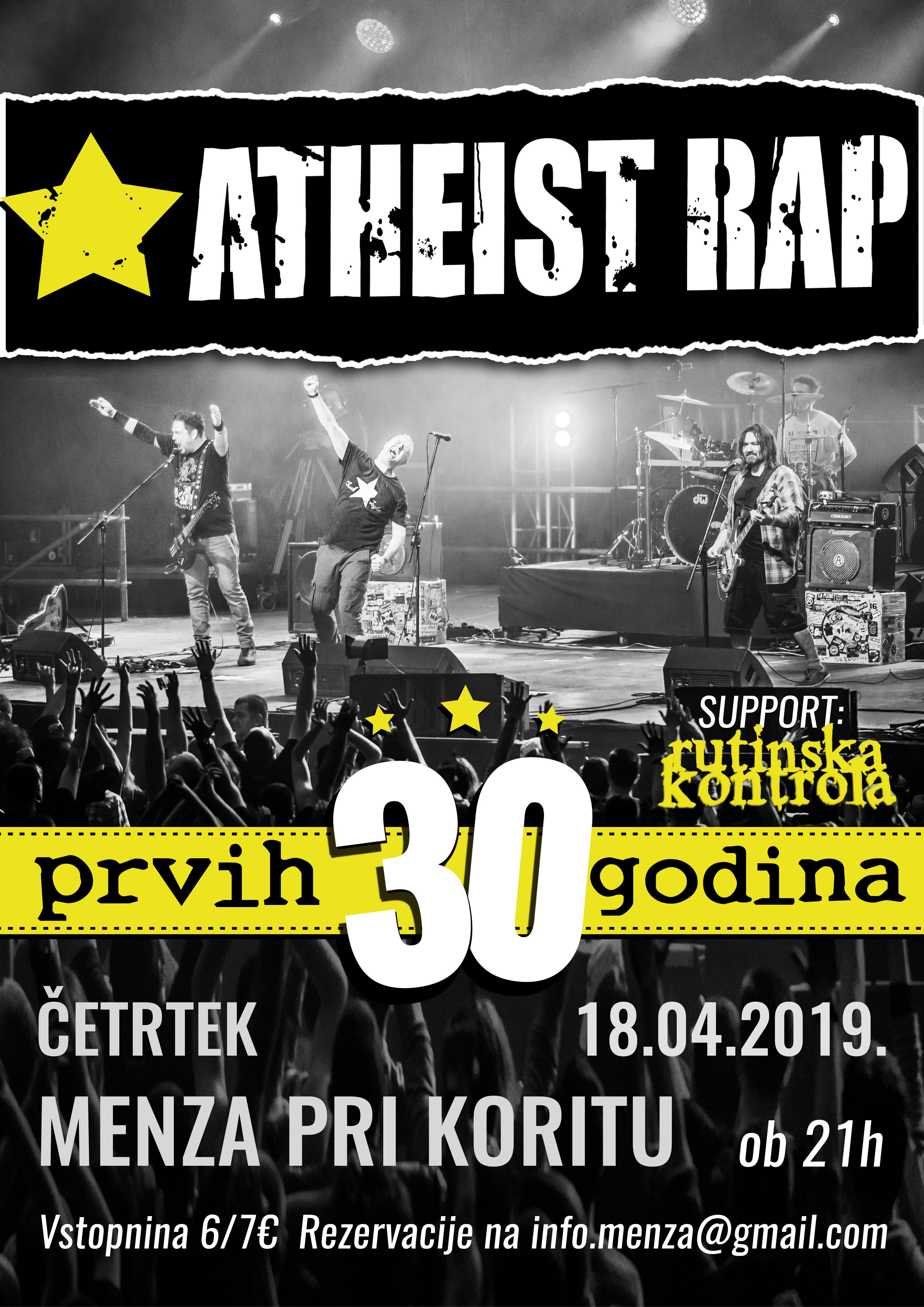 Atheist rap (Srbija) + Rutinska kontrola