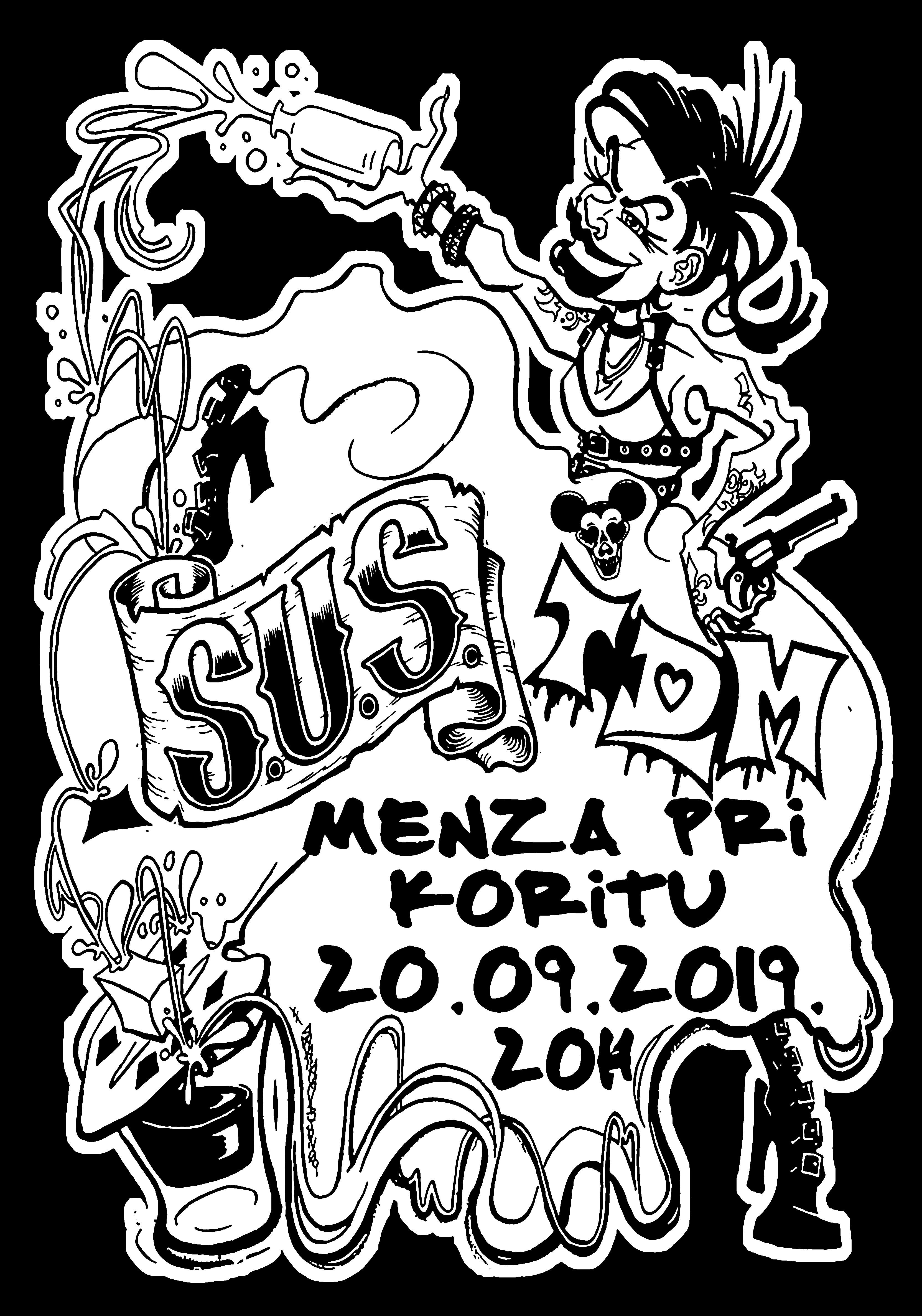 Beograjski SUS + T.D.M = punk&roll simpaticos